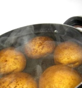 Вареная картошка