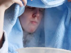 Укрываемся одеялом когда дышим над картошкой