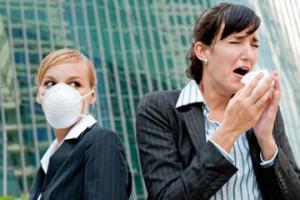 Контакты больных и здоровых людей