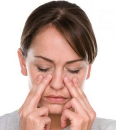 Боль в области носа и щек