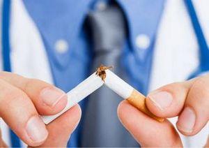 Сломанная в пальцах сигарета