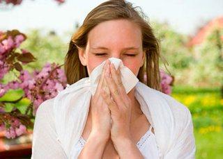 Заложенный нос при аллергическом рините