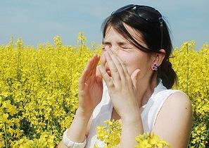 Аллергия - одна из причин заложенного носа