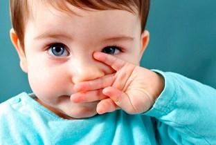 У ребенка зуд и жжение в носу