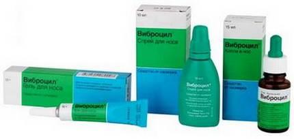 Линейка препаратов Виброцил