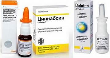 Гомеопатические лекарства от гайморита