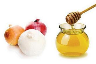 Мед и репчатый лук