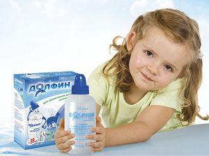 Девочка и препарат Долфин