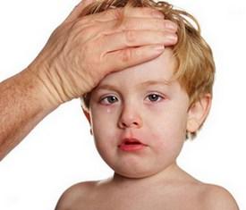 У ребенка головная боль - симптом гайморита