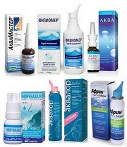 Солевые растворы для промывания носовой полости