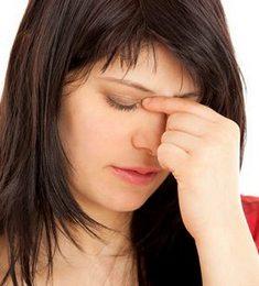 Давящая боль при гайморите