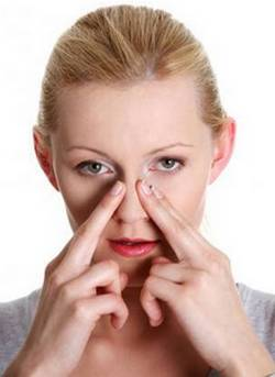 Заложенность носа при гайморите