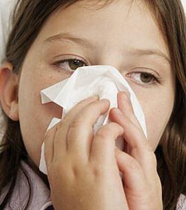 Отек слизистой носа у ребенка
