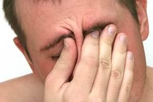 Болят глаза при гайморите