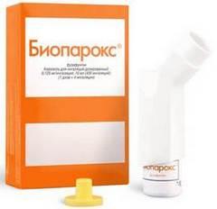Местный антибиотик Биопарокс