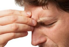 Боли в области лобных пазух